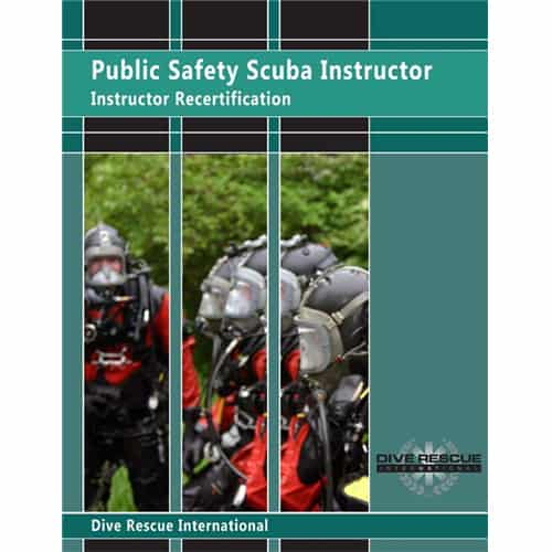 Public Safety Scuba Instructor Recert Kit