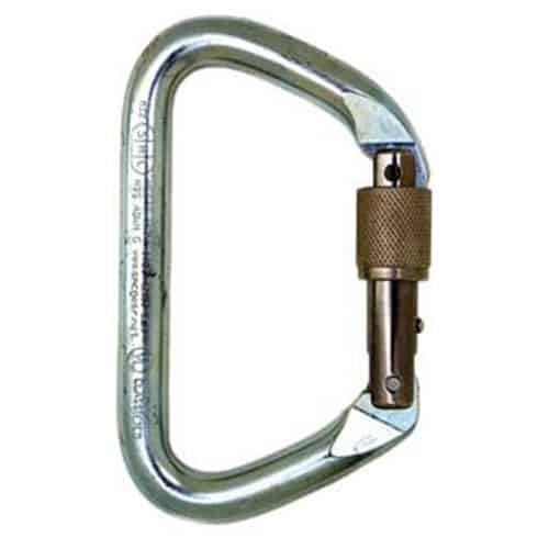 SMC Large Steel D Carabiner