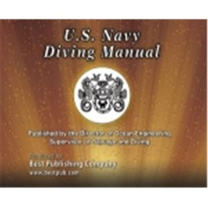 US Navy Diving Manual Revision 6th Edition on CD