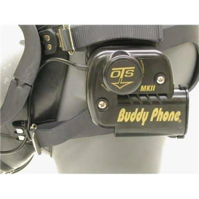 OTS Buddy Phone D2 for Interspiro Divator Mask