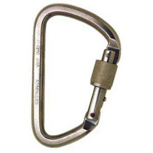 SMC Light Steel Locking Carabiner