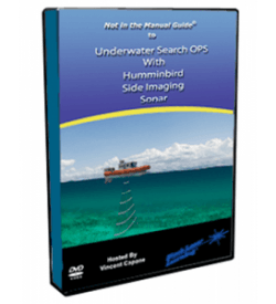 Not in the Manual Guide to Underwater Search OPS with Humminbird Side Imaging Sonar DVD