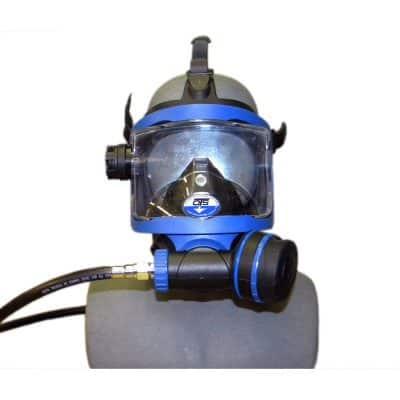 OTS Full Face Mask blk-blu