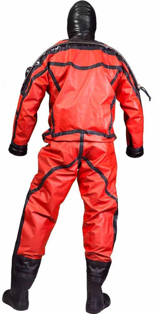Aqua Lung Enviro Drysuit backside