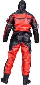 Aqua Lung HazMat PSD Drysuit backside