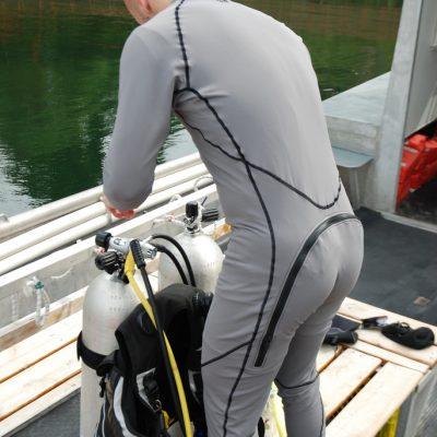 Aqua Lung MK0 Glacier Undergarment back