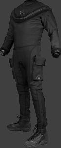 Aqua Lung Fusion Law Enforcement Drysuit