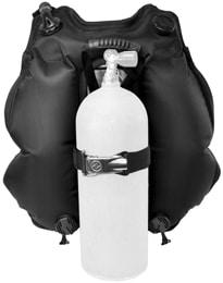 Aqua Lung BC-1 BCD back