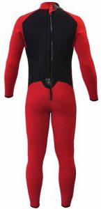 Aqua Flex Public Safety Wet Suit back