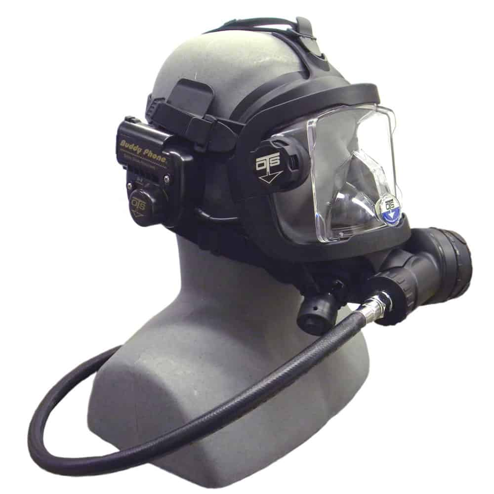 OTS Guardian Full Face Mask with Buddy Phone D2