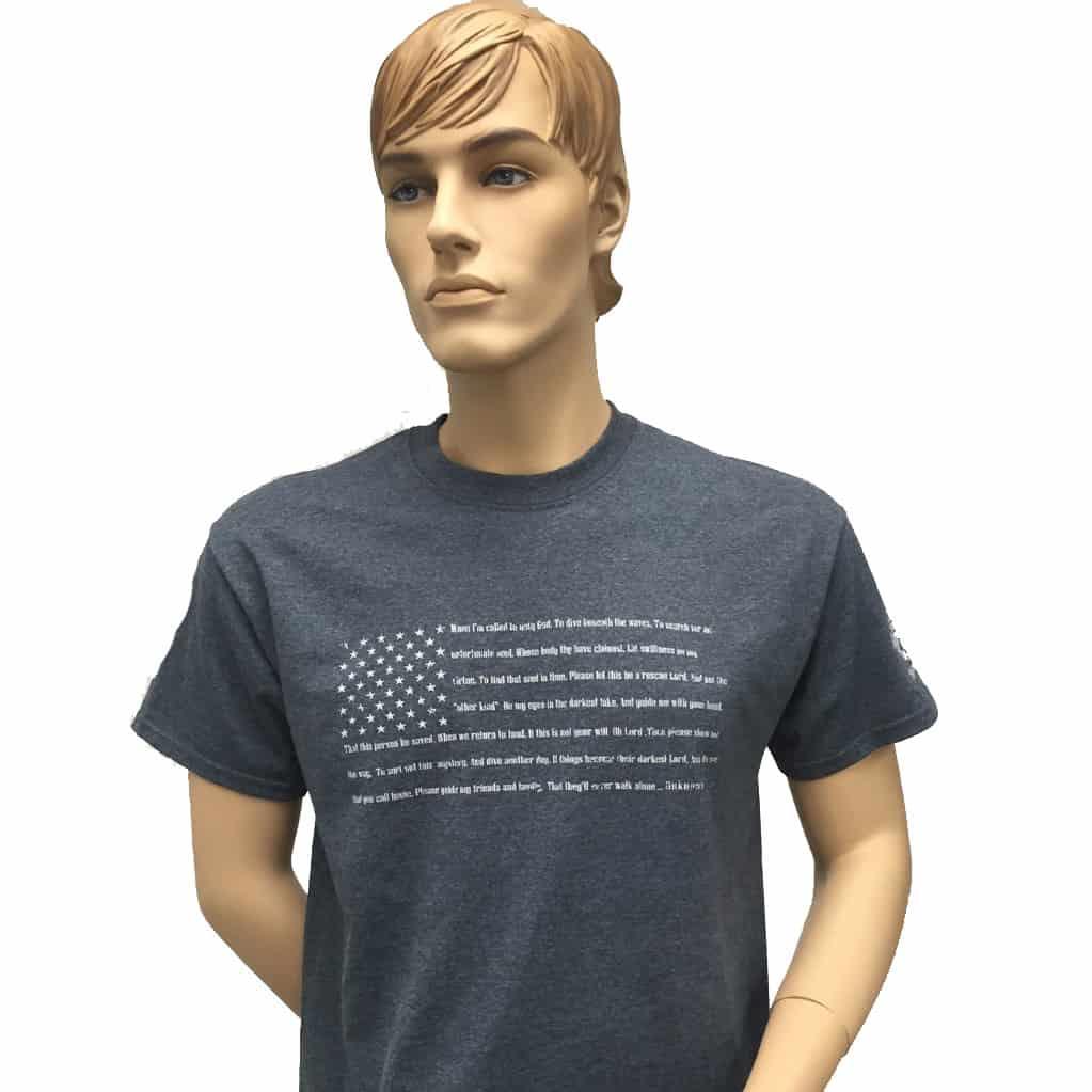 DRI PSD Prayer Flag T-shirt