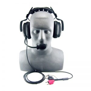 OTS Deluxe Headset w/ Boom Mic For MK2-DCI