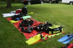 Dive Rescue equipment