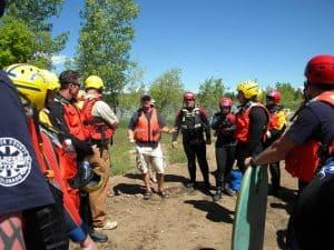 dive rescue briefing